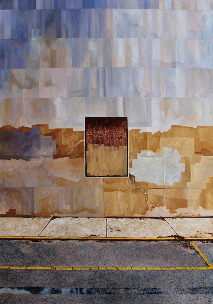 Jessica Hess, Wall I, 2017