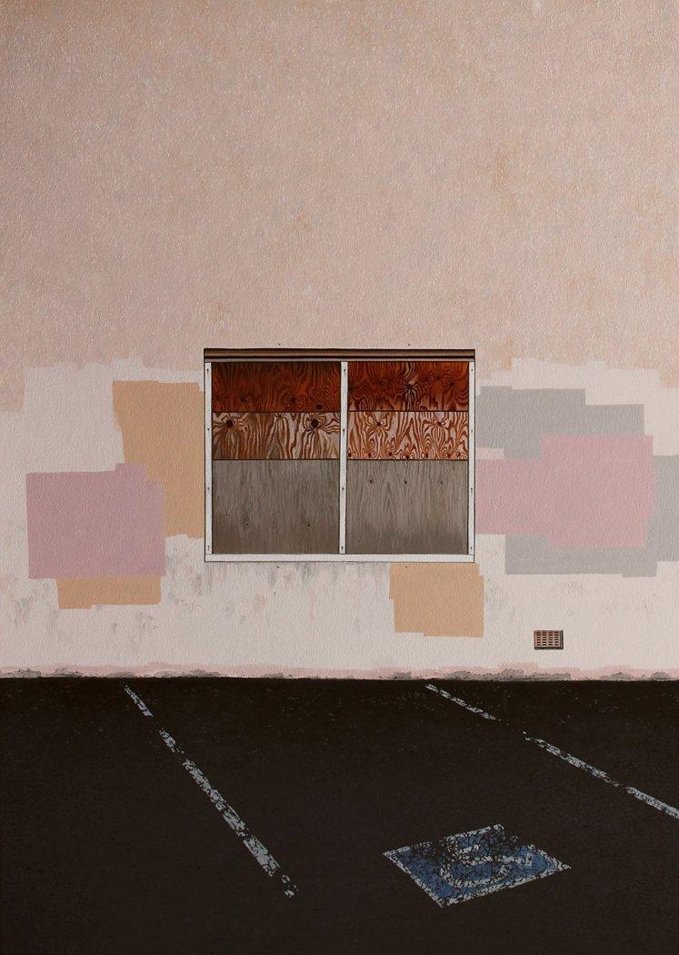 Jessica Hess, Wall II, 2017