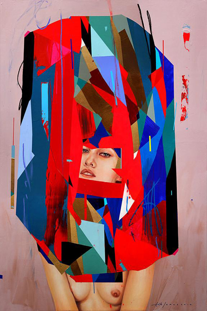 Erik Jones, Shell: Pink Ground, 2014
