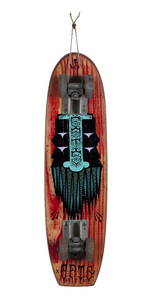 GATS, Skateboard 13, 2018