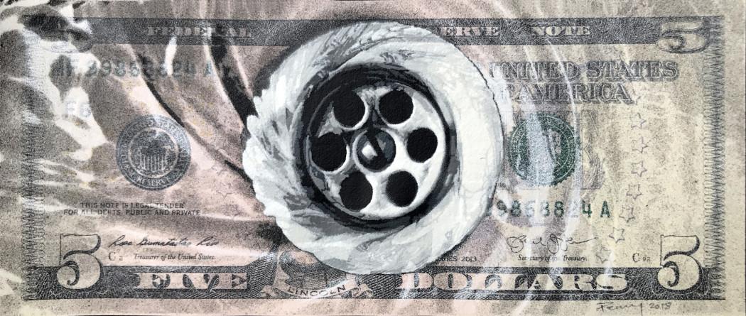 Penny, Drain - Five Dollar, 2019
