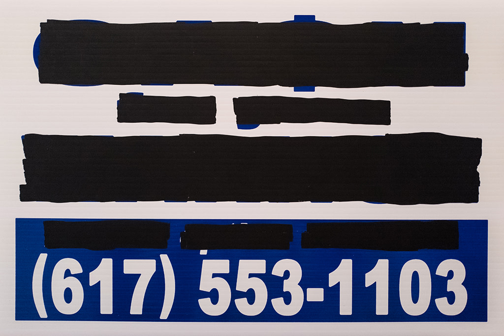 Cash For Your Warhol, CFYW Bitcoin (White, Redacted) 2, 2018