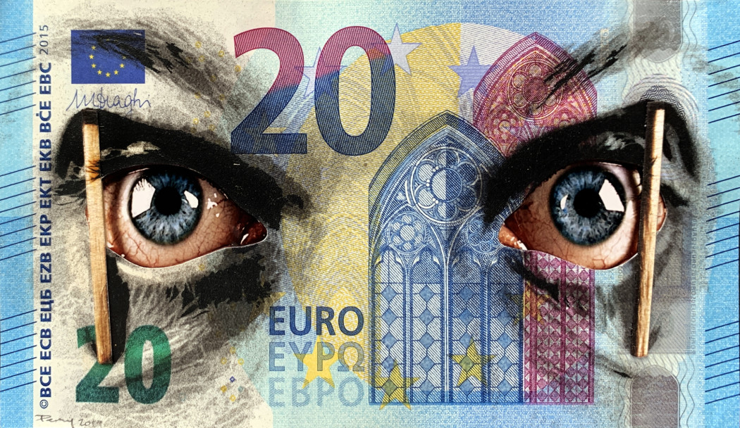 Penny, Late in the Day - Twenty Euro, 2019