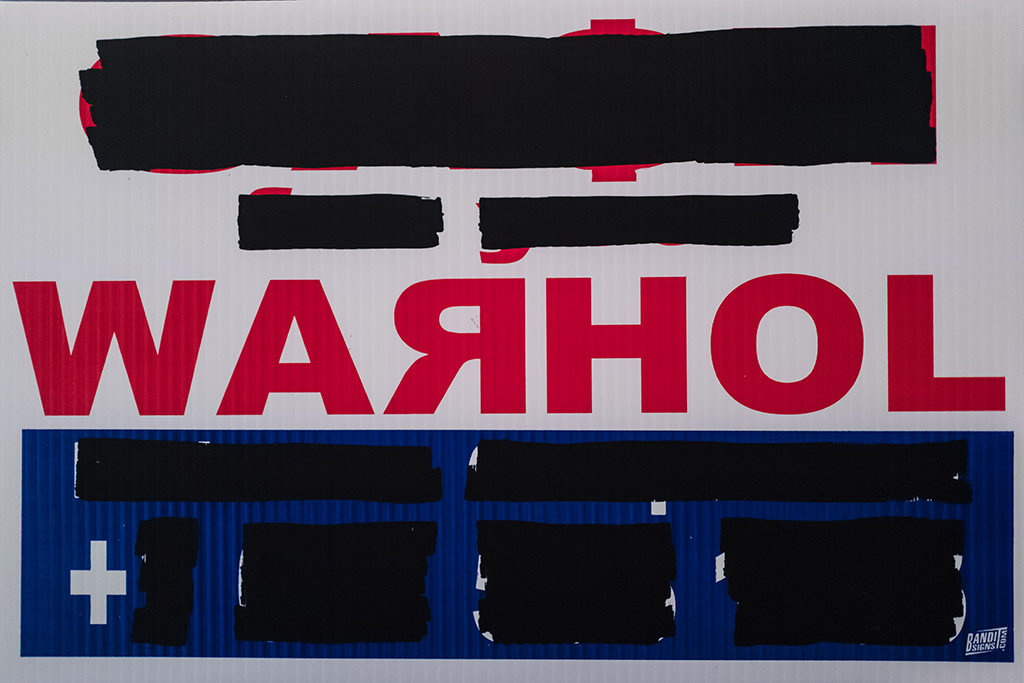 Cash For Your Warhol, CFYW Russian (Redacted), 2018
