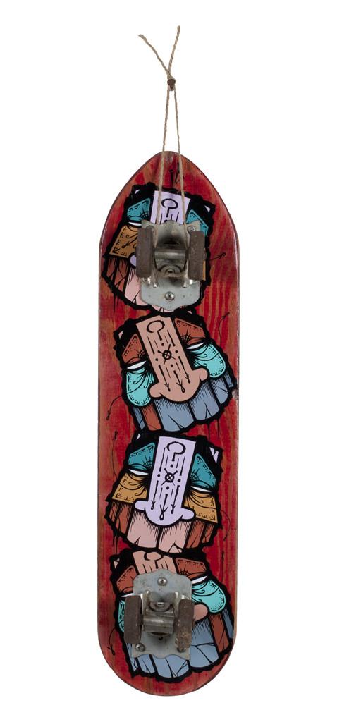 GATS, Skateboard 12, 2018