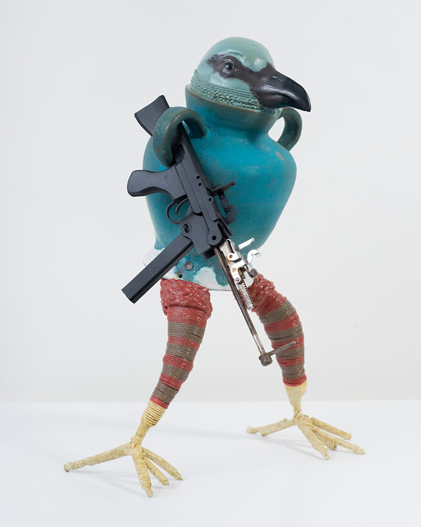 Ravi Zupa, New York Birdpot Creature 8, 2019
