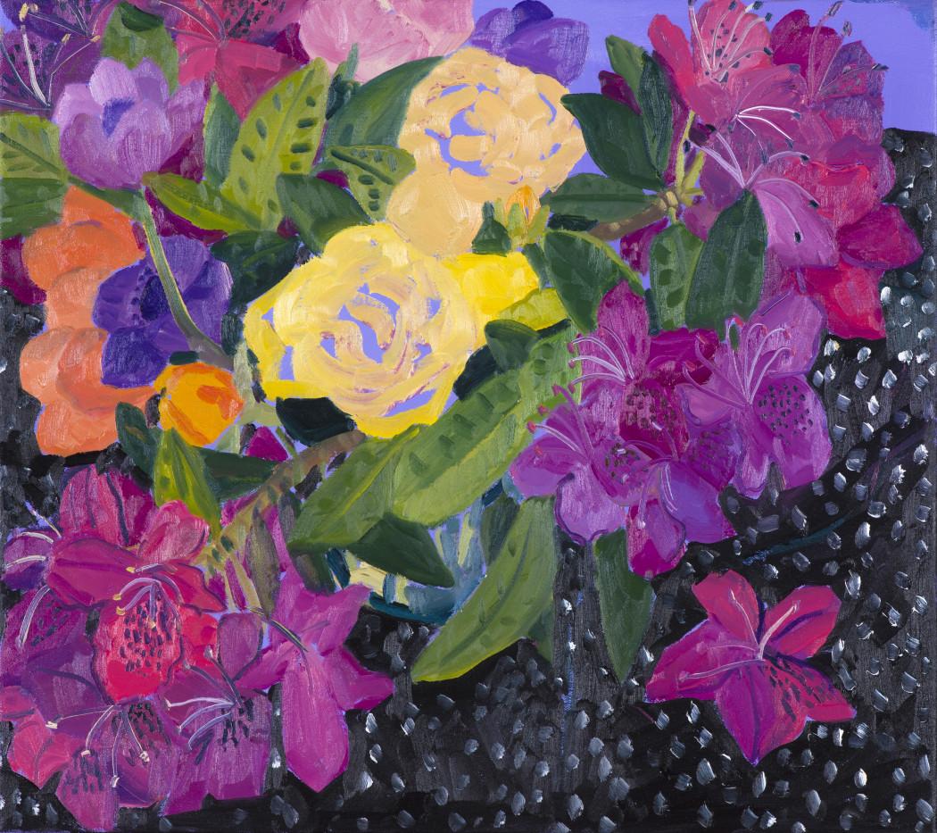 Anna Valdez, Floral Study, 2017