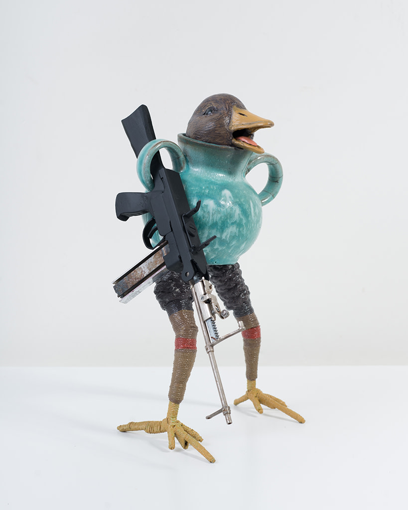 Ravi Zupa, New York Birdpot Creature 3, 2019