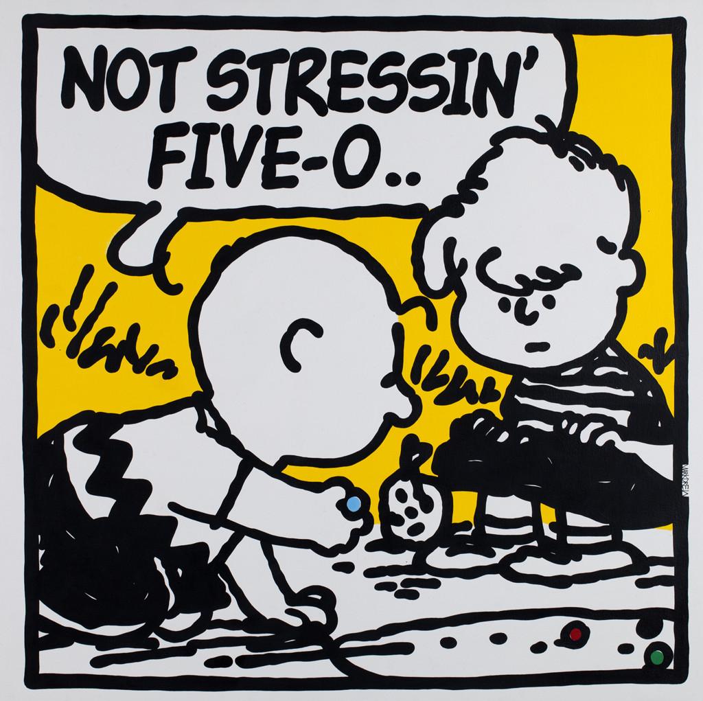 Mark Drew, NO STRESS (Jeru The Damaja), 2018