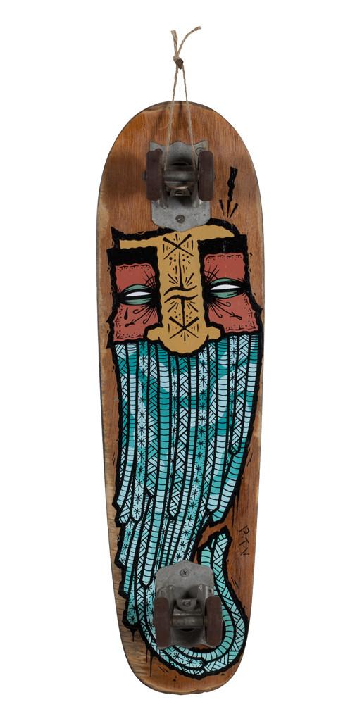 GATS, Skateboard 10, 2018