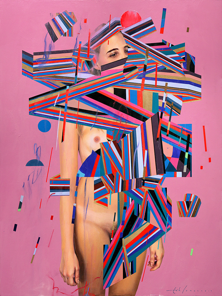 Erik Jones, Robe Of Ribbon, 2014