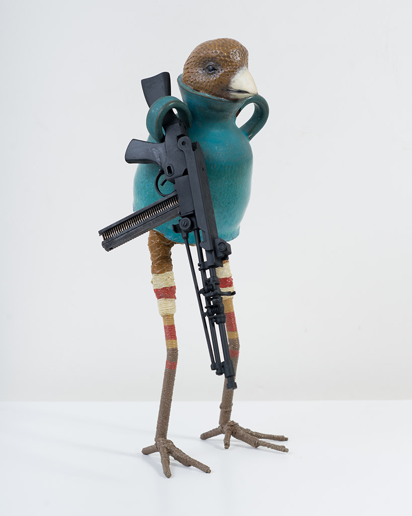 Ravi Zupa, New York Birdpot Creature 5, 2019
