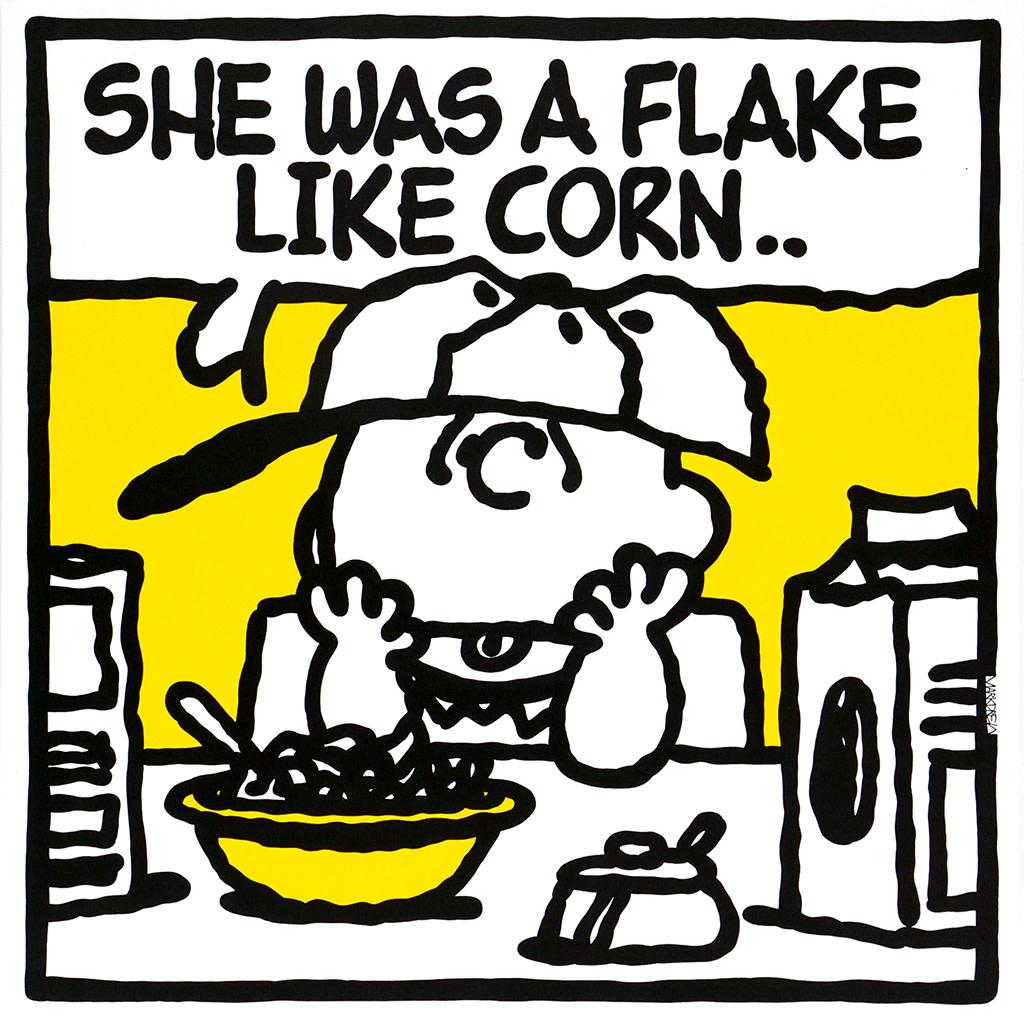 Mark Drew, Flake Like Corn (Imani / The Pharcyde), 2018