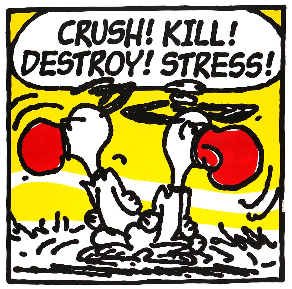 Mark Drew, Stress (Organized Konfusion), 2018