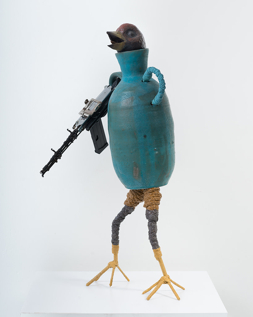 Ravi Zupa, New York Birdpot Creature 13, 2019