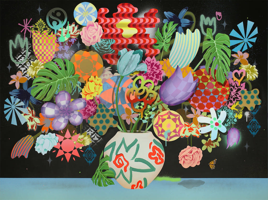 Casey Gray, Still Life With Flowers No. 35, 2017