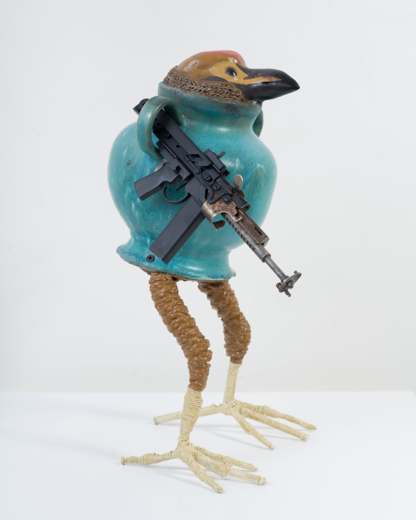 Ravi Zupa, New York Birdpot Creature 9, 2019