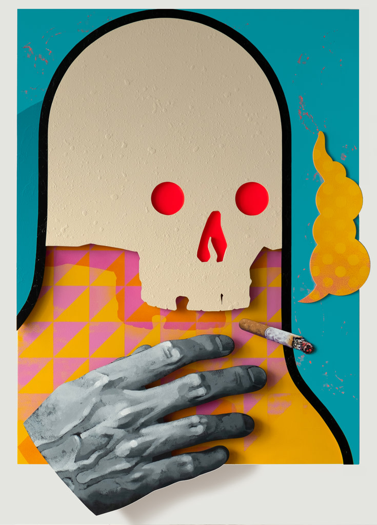 Michael Reeder, Bobby With The Big Hand, 2018