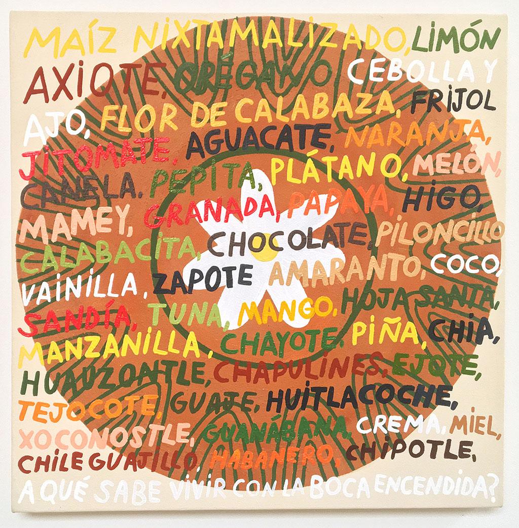 Liz Hernandez, Plato #1 (Plate #1), 2019