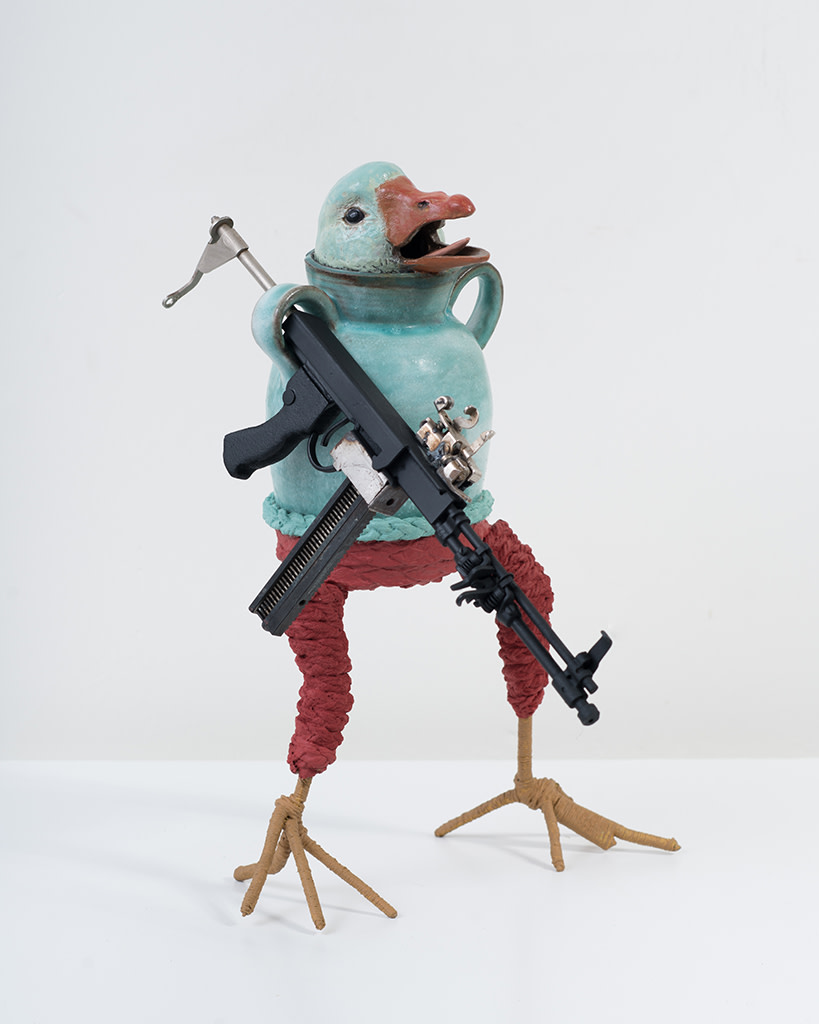 Ravi Zupa, New York Birdpot Creature 7, 2019
