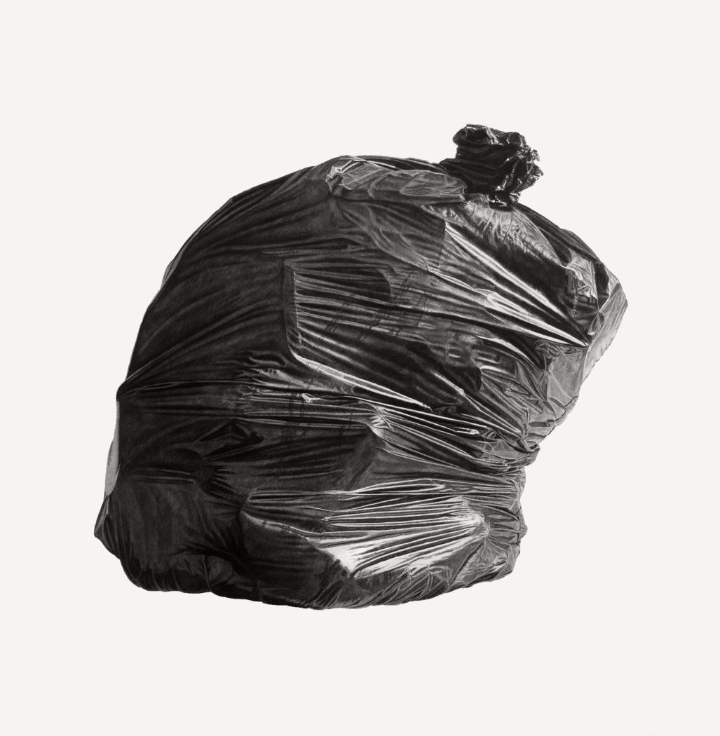 Joel Daniel Phillips, Neighborhood Still Life 8 (Black Bag), 2018