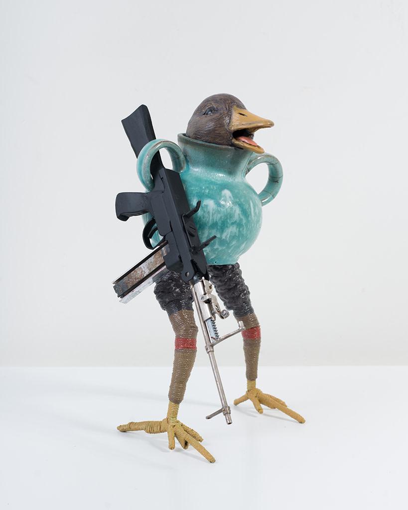 Ravi Zupa, New York Birdpot Creature 3, 2019