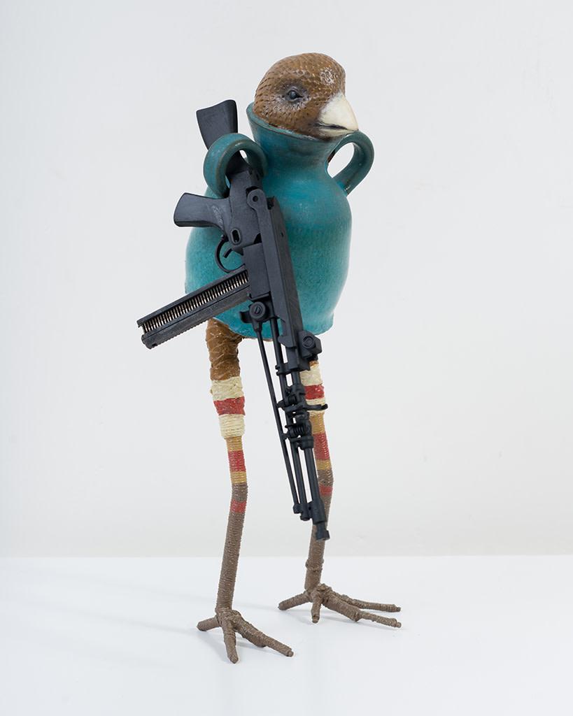 Ravi Zupa, New York Birdpot Creature 5, 2019