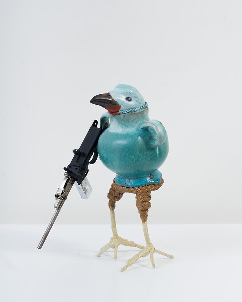 Ravi Zupa, New York Birdpot Creature 2, 2019