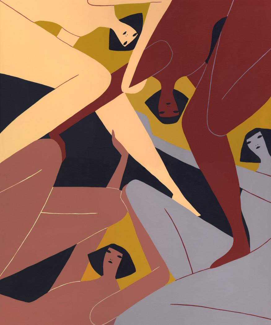 Laura Berger, Resisting, 2018