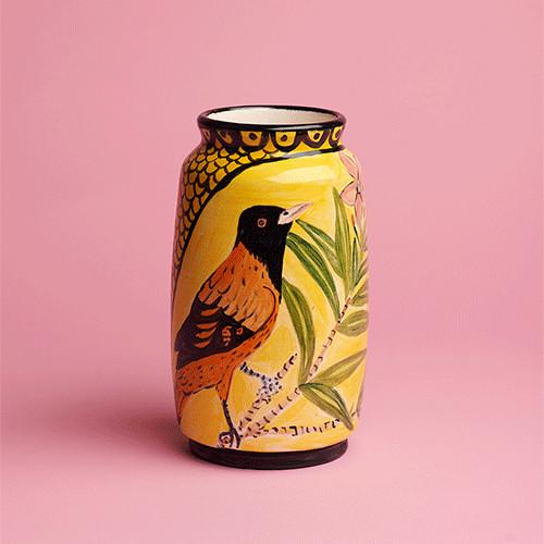 Anna Valdez, Bird Vase, 2019