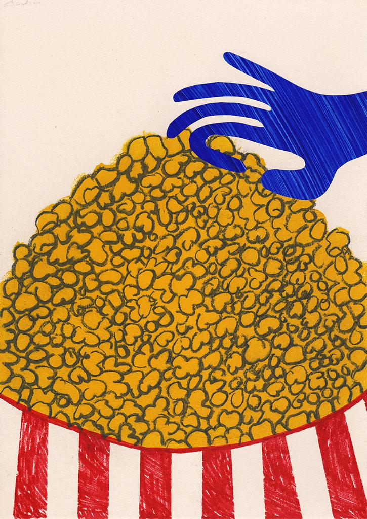 B.D. Graft, Popcorn, 2019
