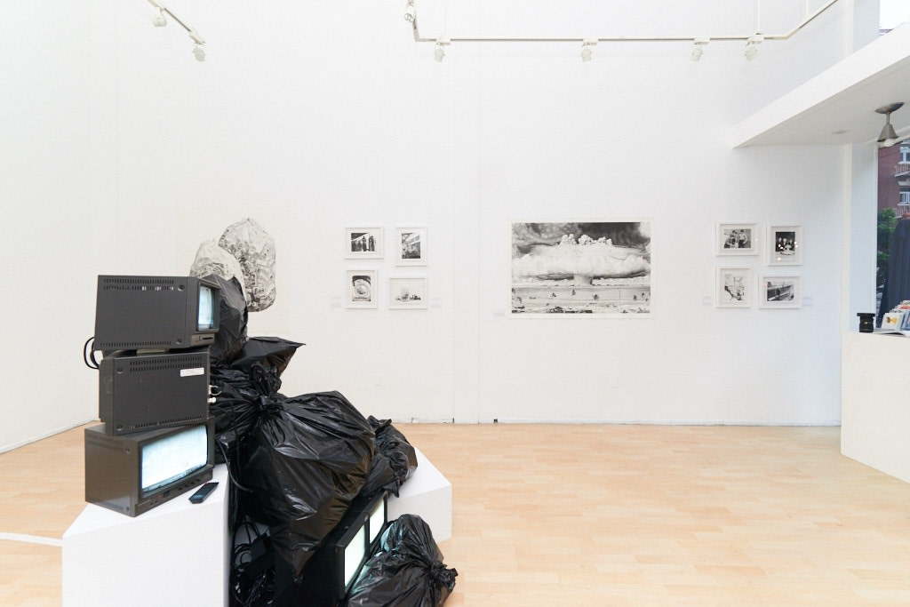 Joel Daniel Phillips, Hazards May Be Present, 2018 Installation view