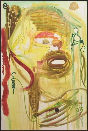 """<p><span class=""""artist""""><strong>Jonathan Meese</strong></span></p><p><span class=""""title""""><em>Dr. Schleckermaulchen</em>, 2008</span></p>"""