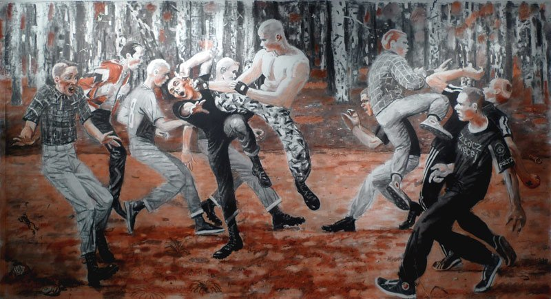 <em>Fight in the Park</em>, 2012