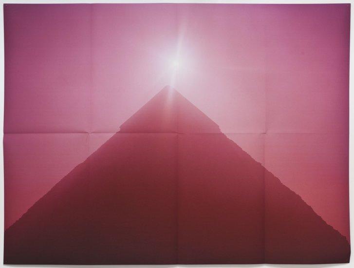 <em>(Pyramid, Pink)</em>, 2010