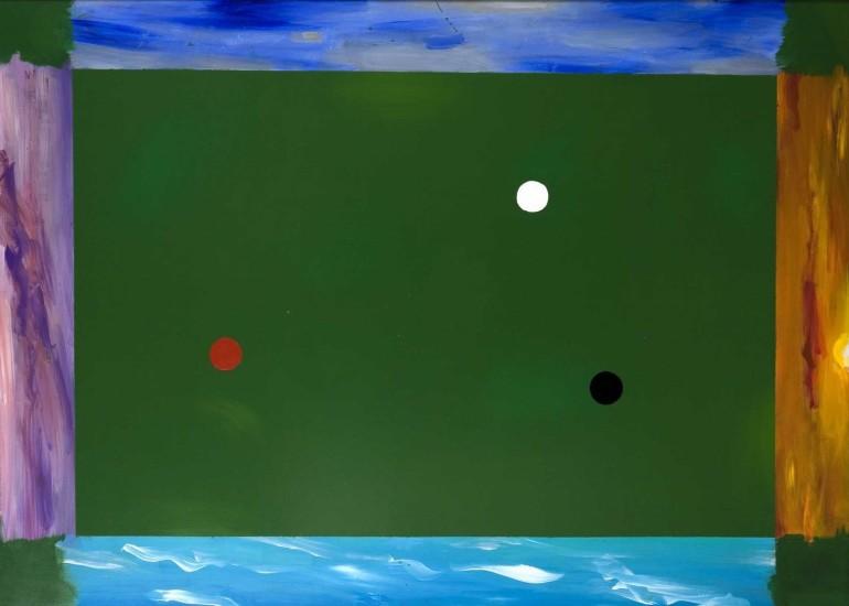 <em>Зеленое поле I / Green Field I</em>, 1990