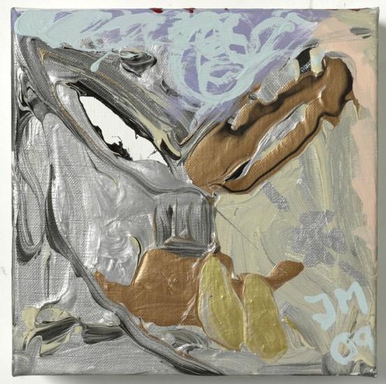 "<p><span class=""artist""><strong>Jonathan Meese</strong></span></p><p><span class=""title""><em>DR. BABYEISERNES KREUZ VIII</em>, 2009</span></p>"
