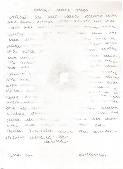 <em>A Letter to a Friend</em>, 2010