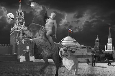 <em>Red Square from the series RUSSIAN</em>, 1999