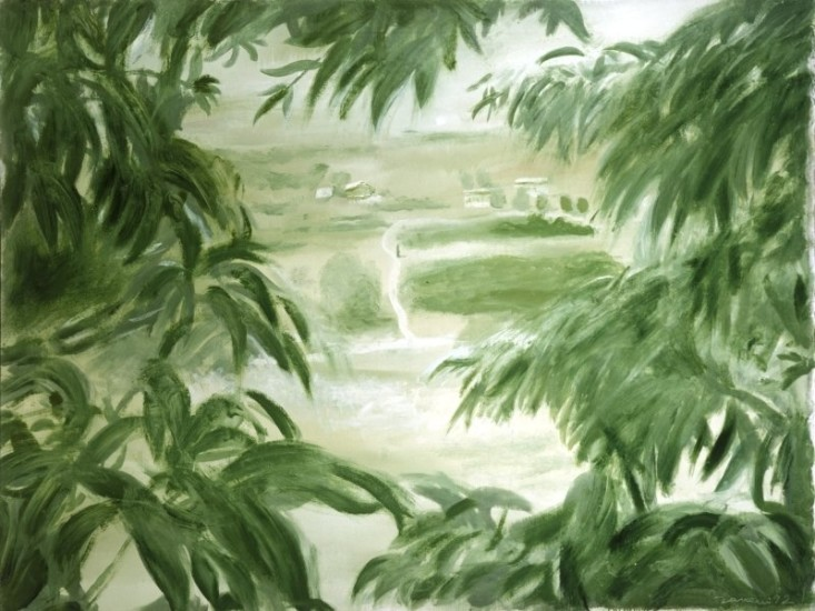 <em>Through foliage</em>, 1992