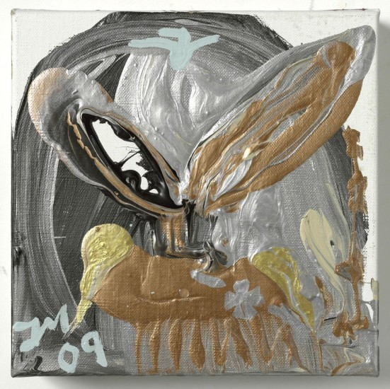 "<p><span class=""artist""><strong>Jonathan Meese</strong></span></p><p><span class=""title""><em>DR. BABYEISERNES KREUZ VI</em>, 2009</span></p>"