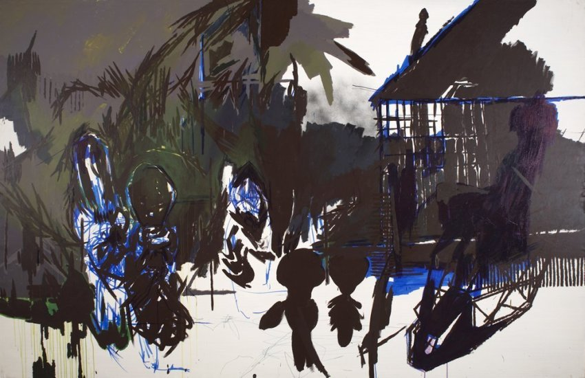 <em>KAIMAN TRIBE from the series IT'S LIKE A JUNGLES SOMETIMES</em>, 2008