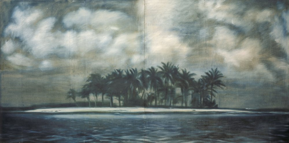 "<span class=""title"">Island (diptych)<span class=""title_comma"">, </span></span><span class=""year"">1991</span>"
