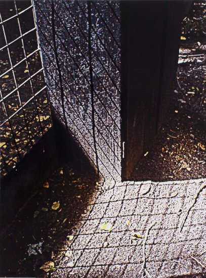 <em>Решетка и ее тень из цикла МОЙ ДВОР / Railing and its Shadow from the cycle MY YARD</em>, 2012