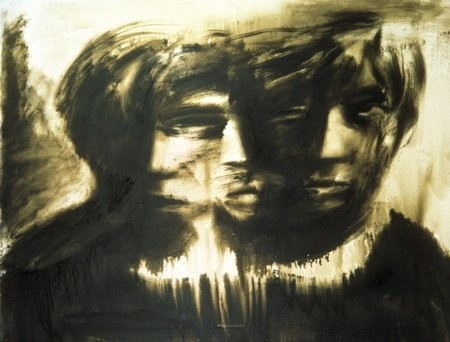 <em>Triple self-portrait</em>, 1991