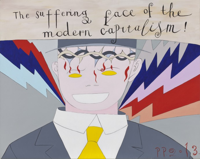 <p><b>Pavel Pepperstein</b><br /><i>The Suffering Face of The Modern Capitalism</i>, 2013</p>