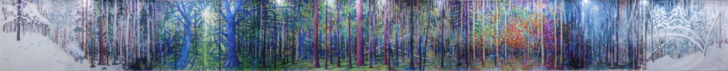 <p><strong>Alexey Kallima&#160;</strong></p><p><em>Emerald and purple&#160;forest</em>, 2015 (panorama)</p>