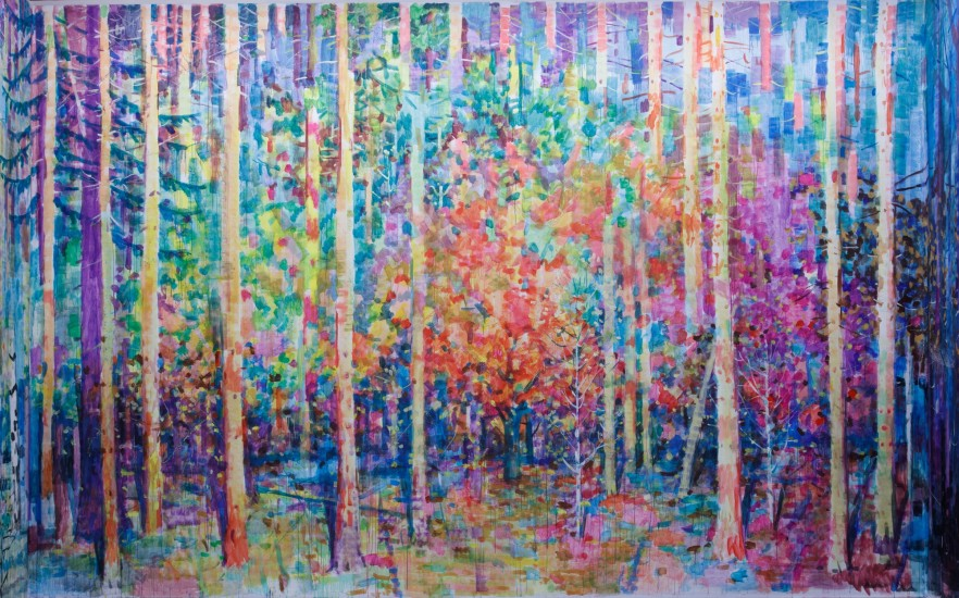 <p><strong>Alexey Kallima&nbsp;</strong></p><p><em>Emerald and purple&nbsp;forest</em>, 2015 (fragment)</p>