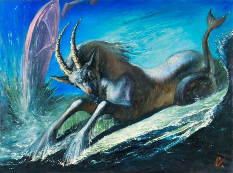 <div class=&#34;title&#34;><strong>Egor Koshelev</strong></div><div class=&#34;title&#34;><em>The appearance of an ibex</em>, 2017</div>