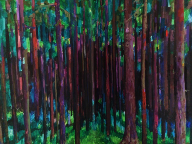 <p><strong>Alexey Kallima&#160;</strong></p><p><em>Emerald and purple&#160;forest</em>, 2015 (fragment)</p>